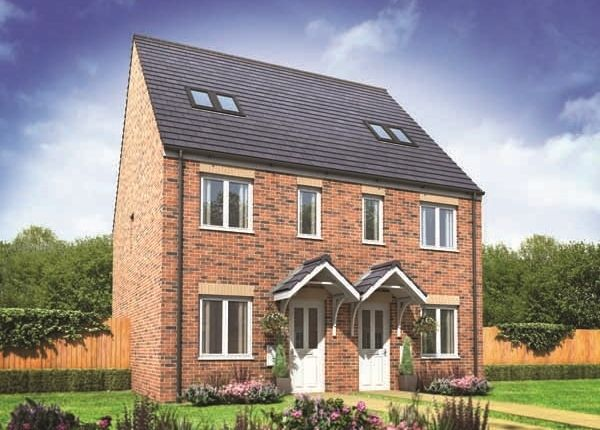 "Thumbnail Terraced house for sale in ""Bickleigh"" at Church Hill Terrace, Church Hill, Sherburn In Elmet, Leeds"