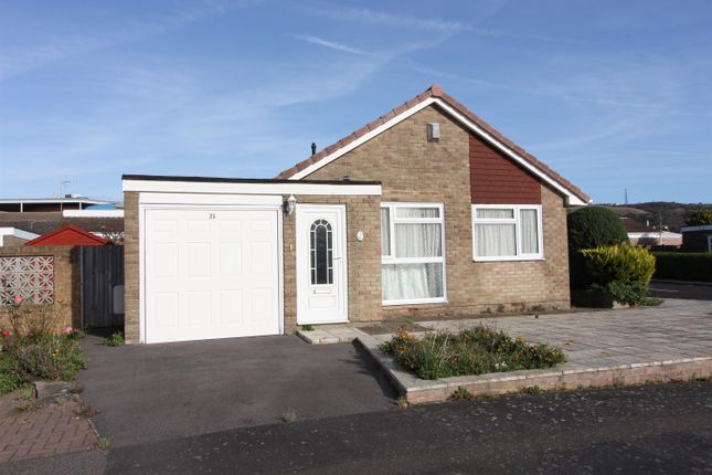 Thumbnail Detached bungalow for sale in Coniston Road, Folkestone, Kent