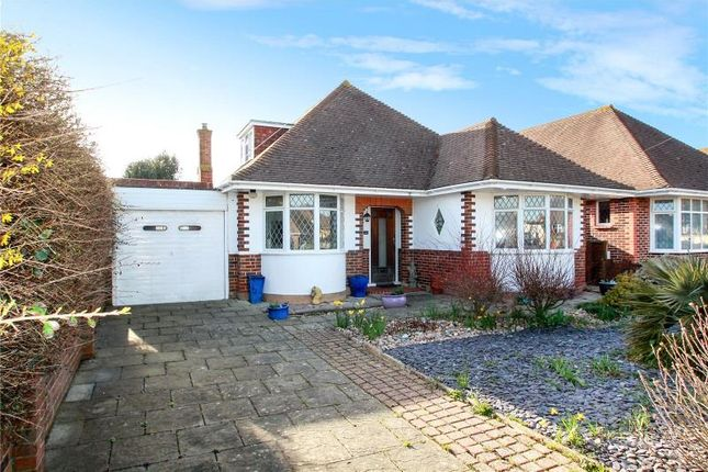 Thumbnail Detached bungalow for sale in Southsea Avenue, Goring By Sea, Worthing