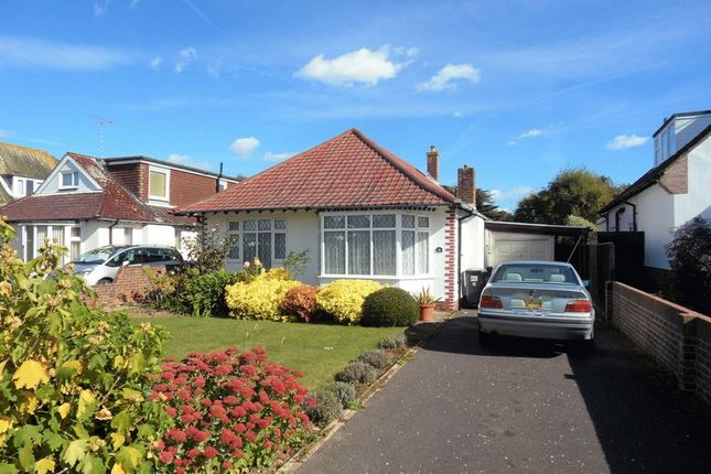 Thumbnail Detached bungalow to rent in Compton Avenue, Goring-By-Sea, Worthing