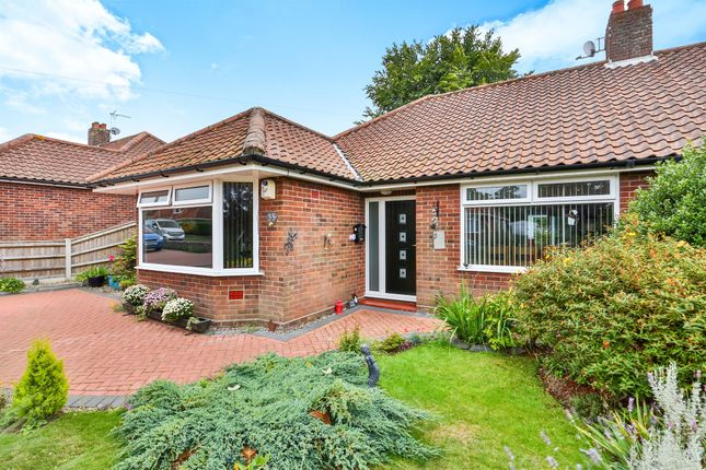 Thumbnail Semi-detached bungalow for sale in Catton Chase, Old Catton, Norwich