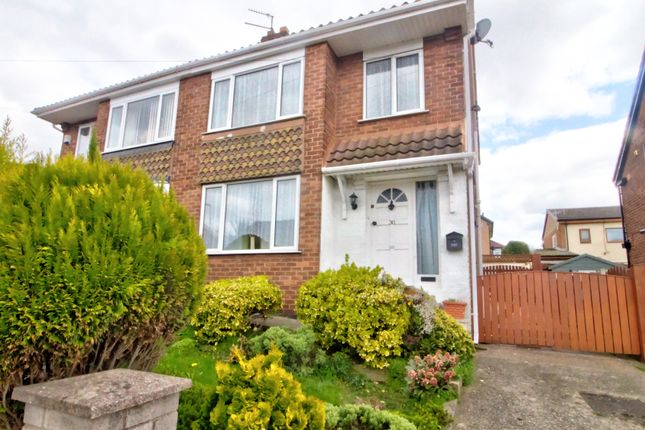 3 bed semi-detached house for sale in Hill View Road, Kimberworth, Rotherham