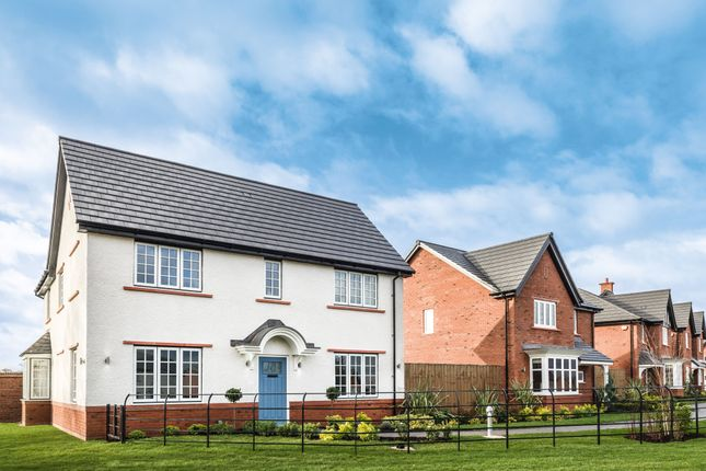 "Thumbnail Detached house for sale in ""The Darlton"" At Wood Lane, Binfield, Bracknell RG42, Near Bracknell,"