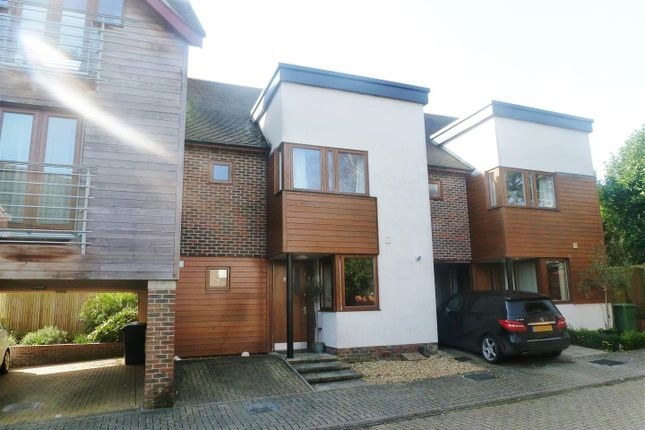 Thumbnail Town house for sale in Edwards Close, Kings Worthy, Winchester