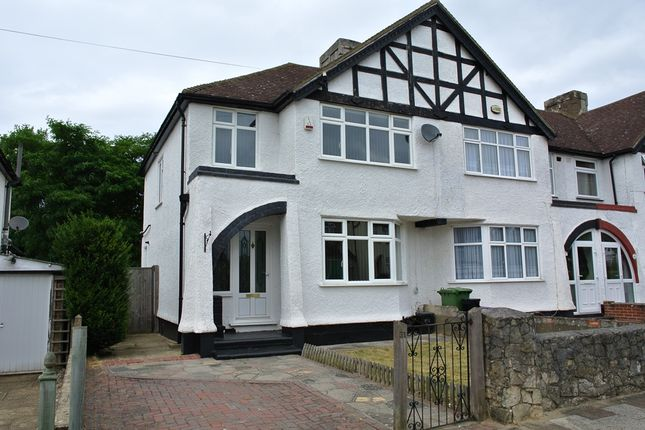 Thumbnail End terrace house for sale in Sunray Avenue, Bromley