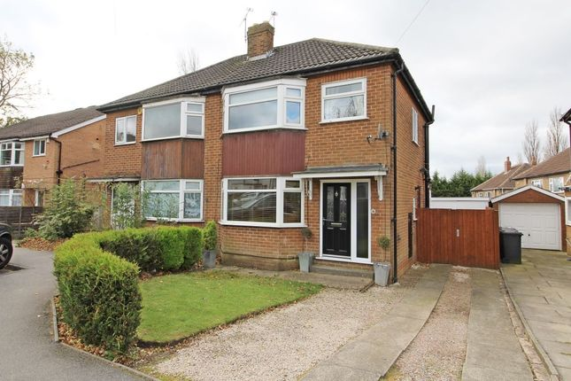 Thumbnail Semi-detached house for sale in Garth Drive, Moortown, Leeds