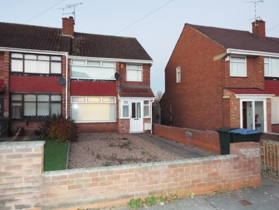 Thumbnail End terrace house for sale in Armscott Road, Coventry, West Midlands