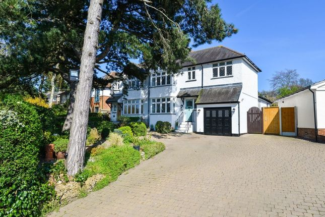 Thumbnail Semi-detached house for sale in Crescent Road, Bishop's Stortford