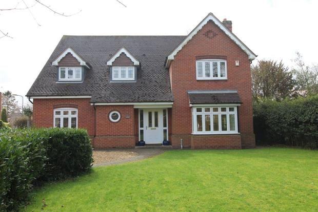 Thumbnail Detached house to rent in Gardner Way, Kenilworth