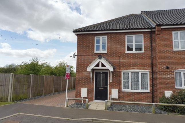 Thumbnail End terrace house for sale in Prince William Way, Diss