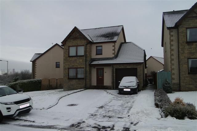 Thumbnail Detached house to rent in Sutherland Crescent, Abernethy, Perth