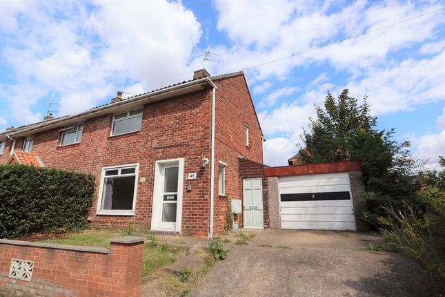 Thumbnail Semi-detached house to rent in Woodhall Drive, Lincoln
