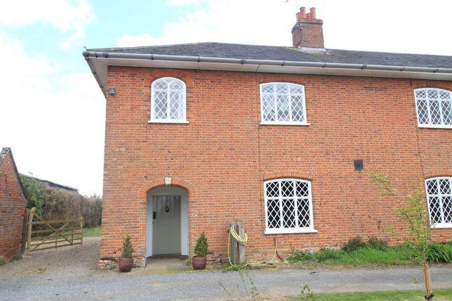 Thumbnail Farmhouse to rent in Marlesford, Woodbridge