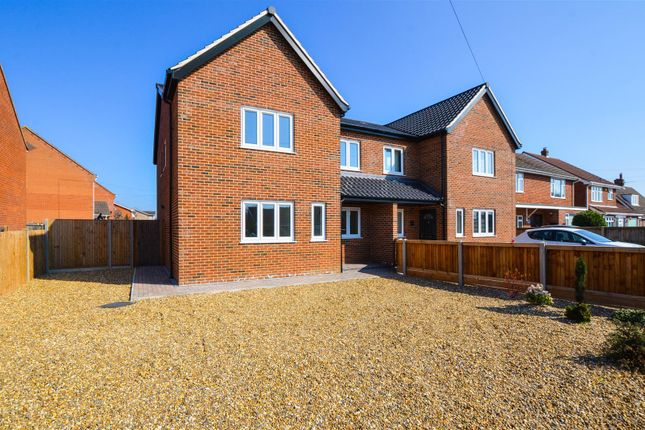 Thumbnail Semi-detached house for sale in Holt Road, Horsford, Norwich