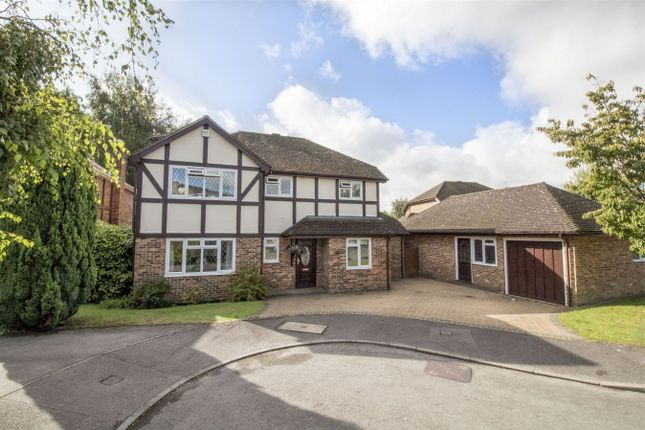 Thumbnail Detached house for sale in Netherhouse Moor, Church Crookham, Fleet