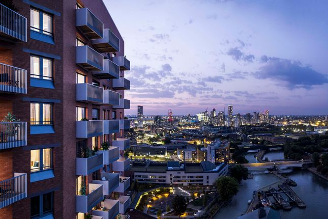 1 bed flat for sale in Barratt Industrial Park, Gillender Street, London E3