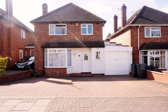 Thumbnail Detached house for sale in Craythorne Avenue, Handsworth, Birmingham