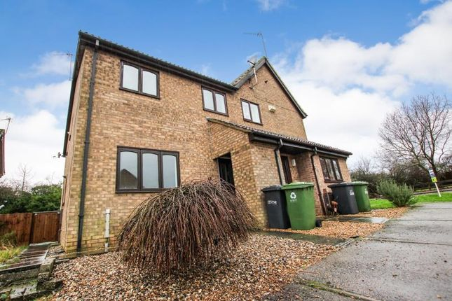 Thumbnail Flat to rent in Norman Drive, Stilton, Peterborough