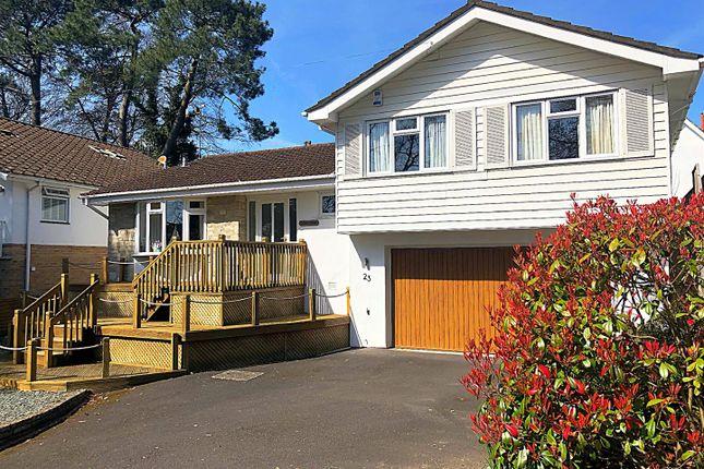 Thumbnail Detached house for sale in De Redvers Road, Parkstone, Poole