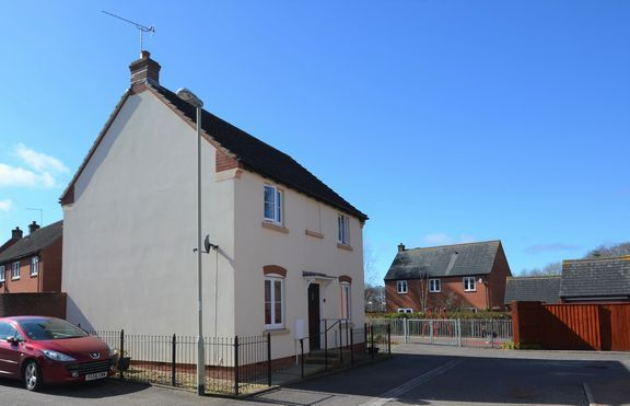 Thumbnail Detached house for sale in Hawks Drive, Tiverton