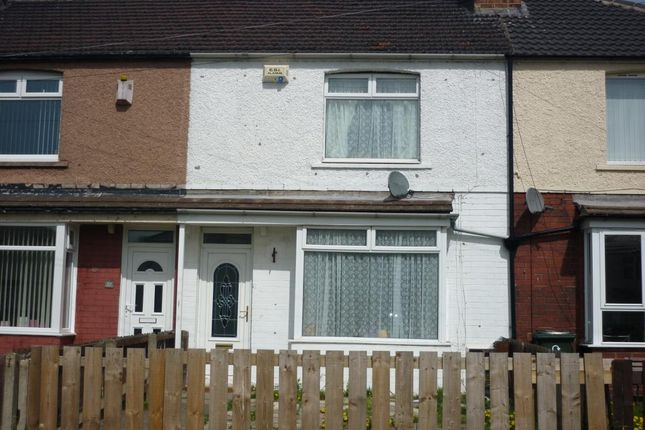 Thumbnail Terraced house to rent in Wilton Avenue, Redcar