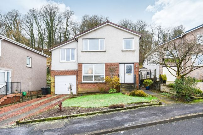 Thumbnail 4 bed detached house for sale in Elmbank Road, Langbank, Port Glasgow