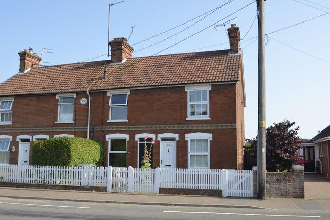 Thumbnail End terrace house for sale in High Road East, Old Felixstowe, Felixstowe
