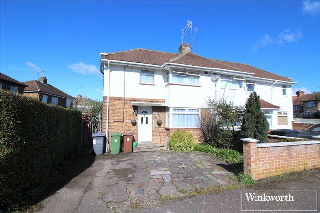 Thumbnail Semi-detached house for sale in Whitehouse Avenue, Borehamwood