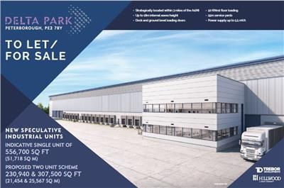 Thumbnail Warehouse for sale in Delta Park, Fletton Parkway, Peterborough