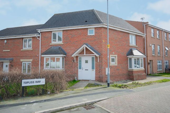 Thumbnail Semi-detached house for sale in Topliss Way, Leeds