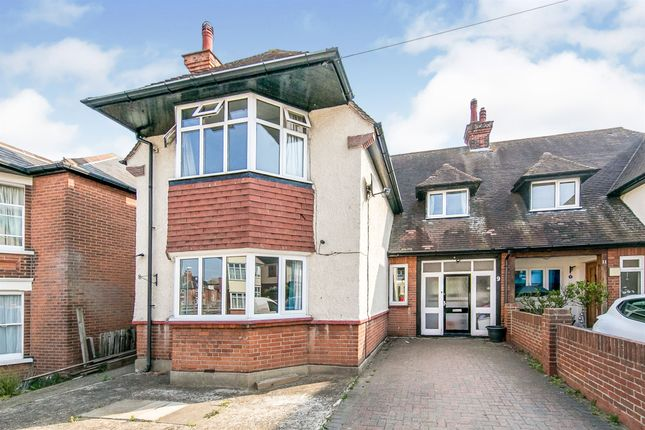 Thumbnail Semi-detached house for sale in Bay Road, Dovercourt, Harwich