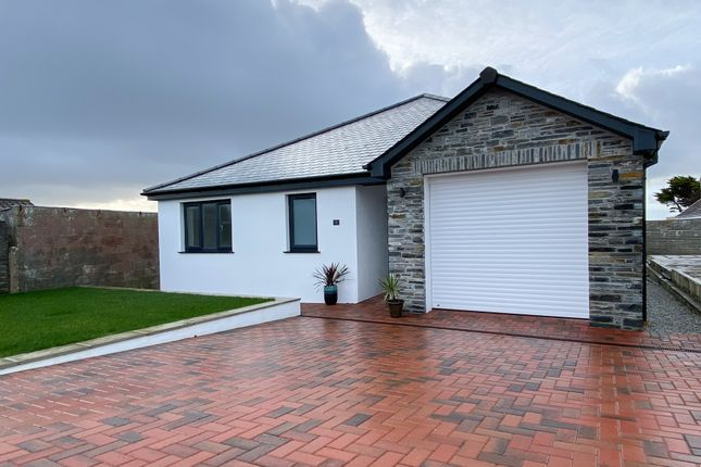 Thumbnail Bungalow for sale in Sea Breeze Close, Trebarwith