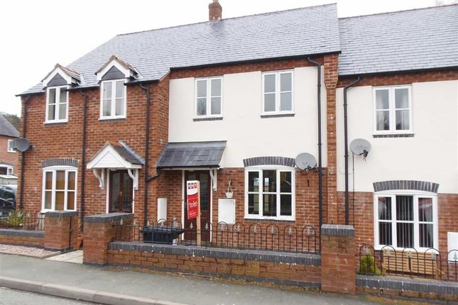 Thumbnail Terraced house to rent in 6, Manor House Close, Montgomery, Powys