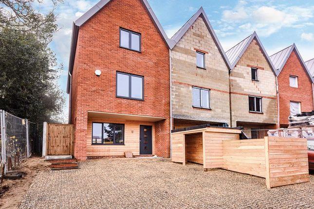Thumbnail Semi-detached house for sale in Barons Hall Lane, Fakenham