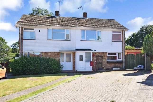 Thumbnail Semi-detached house for sale in Fox Way, Barham, Canterbury, Kent