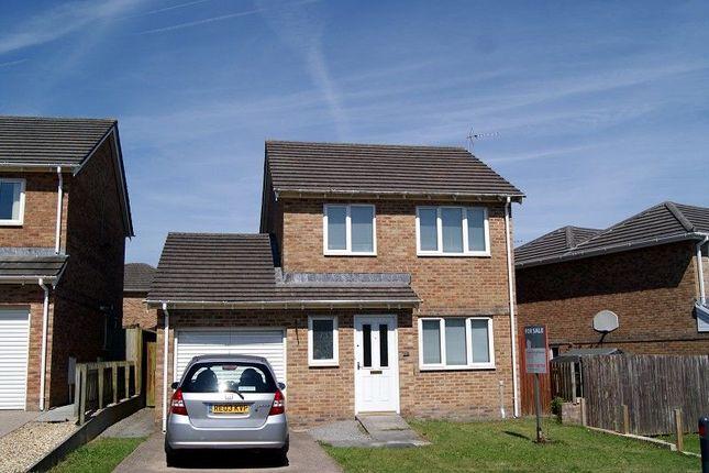 Thumbnail Detached house to rent in Ton Tylluan, Broadlands, Bridgend.