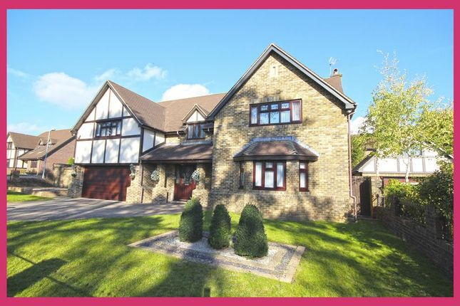 Thumbnail Detached house for sale in Vaendre Lane, St. Mellons, Cardiff