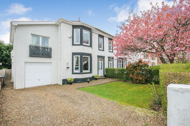 Thumbnail Semi-detached house to rent in Fernleigh Road, Newlands, Glasgow