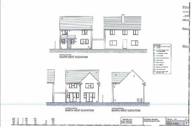 Thumbnail Land for sale in Windmill Way, Much Hadham, Herts