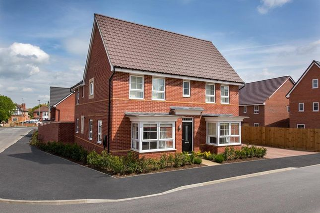 """Thumbnail Detached house for sale in """"Alnwick"""" at Huntingdon Road, Thrapston, Kettering"""