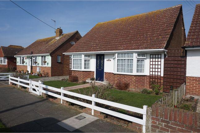 Thumbnail Detached bungalow to rent in Quex View Road, Birchington