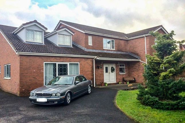 Thumbnail Detached house for sale in Woodland Way, Heolgerrig, Merthyr Tydfil