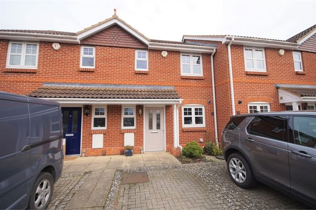Thumbnail Terraced house for sale in Mitford Court, Mitford Close, Three Mile Cross, Reading, Berkshire
