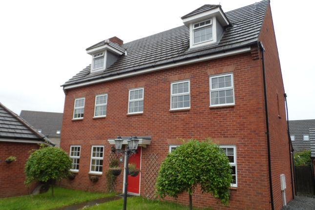 Thumbnail Detached house to rent in Carn Wen, Bridgend