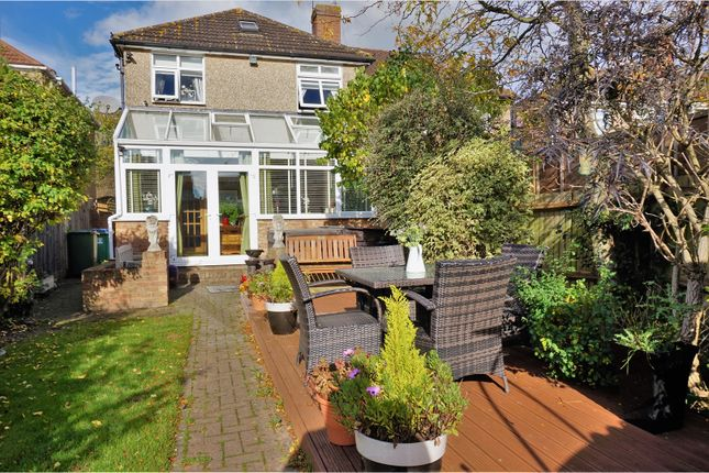 Thumbnail Semi-detached house for sale in North Approach, Watford