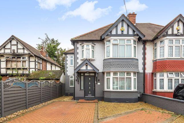 Thumbnail Semi-detached house for sale in Castleton Gardens, Wembley Park, Wembley