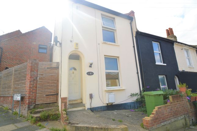 Thumbnail End terrace house for sale in Durham Rise, London
