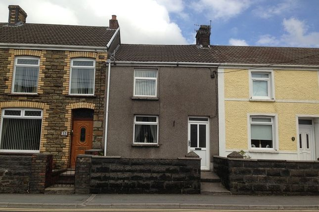 Thumbnail Terraced house to rent in 33 Bridgend Road, Maesteg, Bridgend.