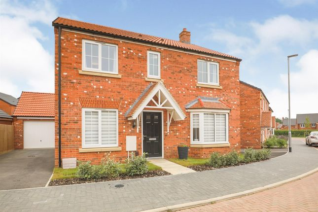 4 bed detached house for sale in Raby Drive, Market Harborough LE16