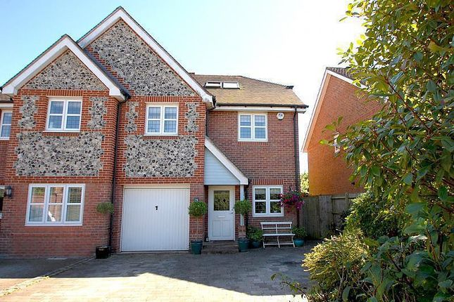 Thumbnail Semi-detached house for sale in White Hart Close, Chalfont St. Giles, Buckinghamshire
